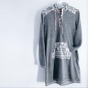 Fleece tunic/dress